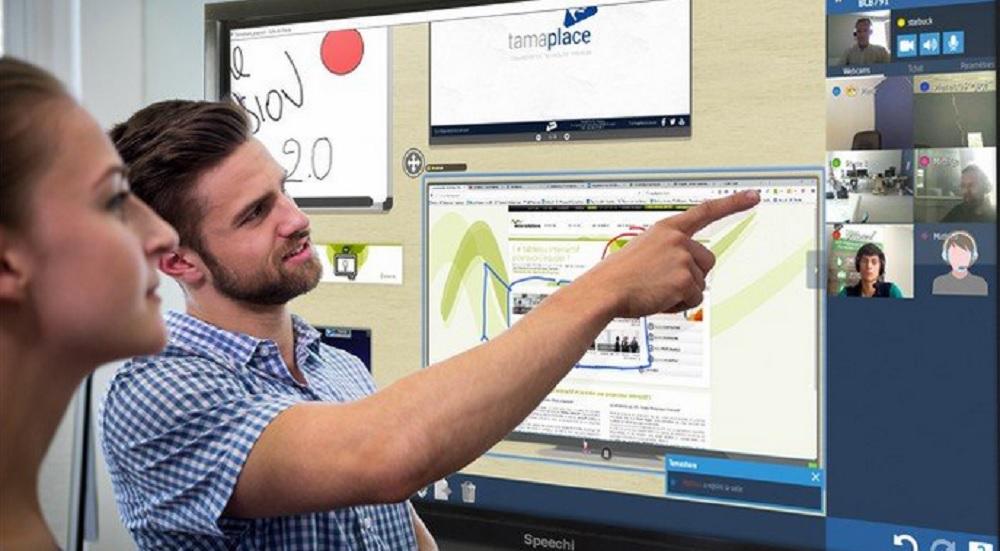 logiciel pour écran interactif et BYOD